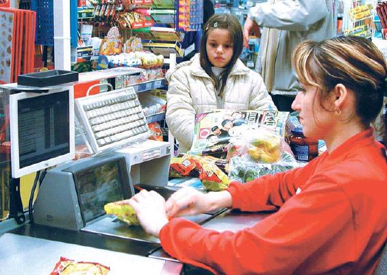 """Десяток таких  """"хитростей """" в день - и кассир идет домой с полной сумкой продуктов, оплаченных наивными посетителями..."""